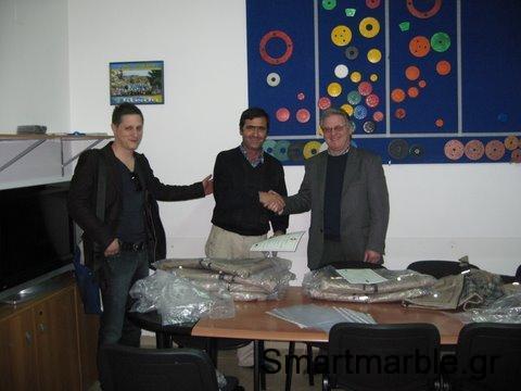 Συμμετοχή σε σεμινάρια για γυάλισμα μαρμάρου στην Ιταλία